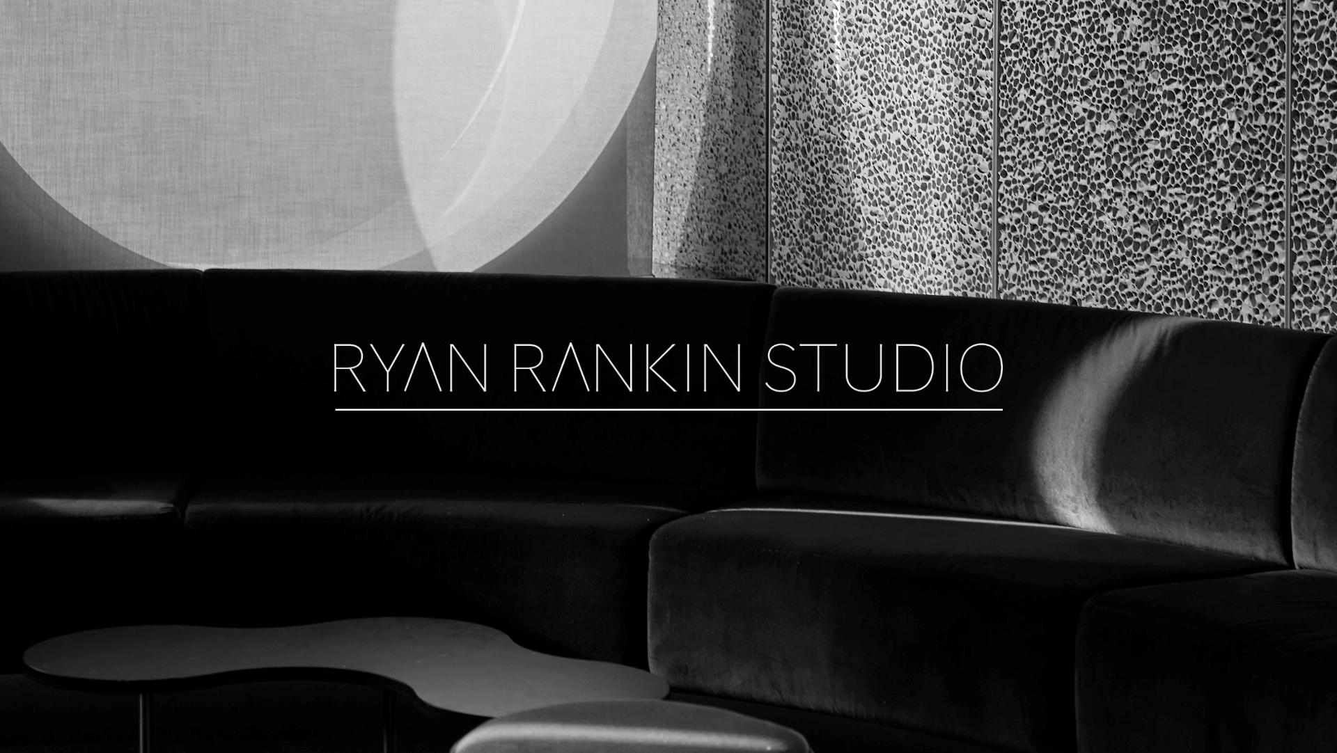 Ryan Rankin Studio Slider Image Sofa with Logo